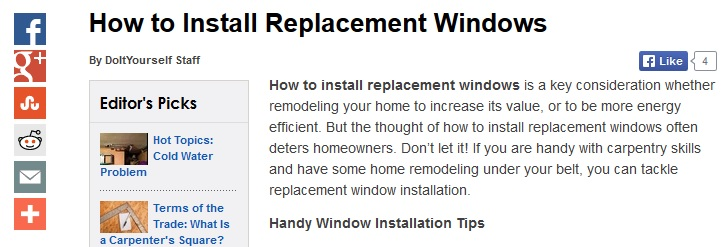 Window Replacement Bow Window